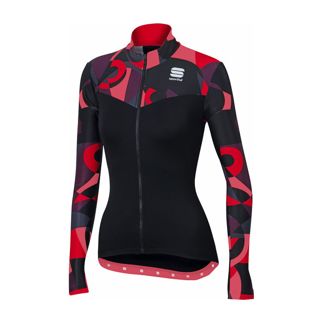 SPORTFUL PRIMAVERA THERMAL JERSEY - BLACK/PINK CORAL