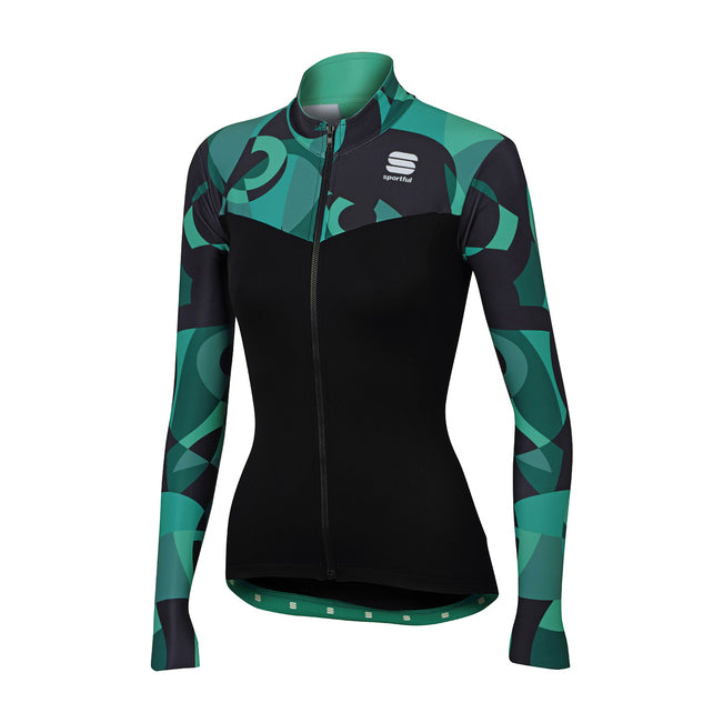 SPORTFUL PRIMAVERA THERMAL JERSEY - BLACK/WATERFALL