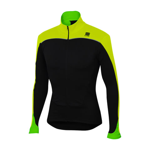 SPORTFUL FORCE JERSEY - BLACK/YELLOW FLUO