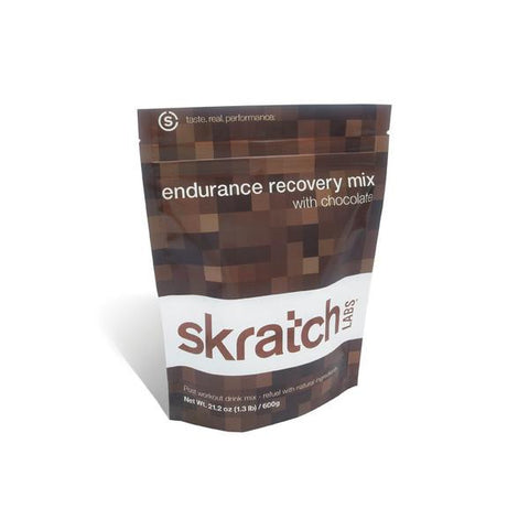 SKRATCH LABS ENDURANCE RECOVERY MIX CHOCOLATE - 600g