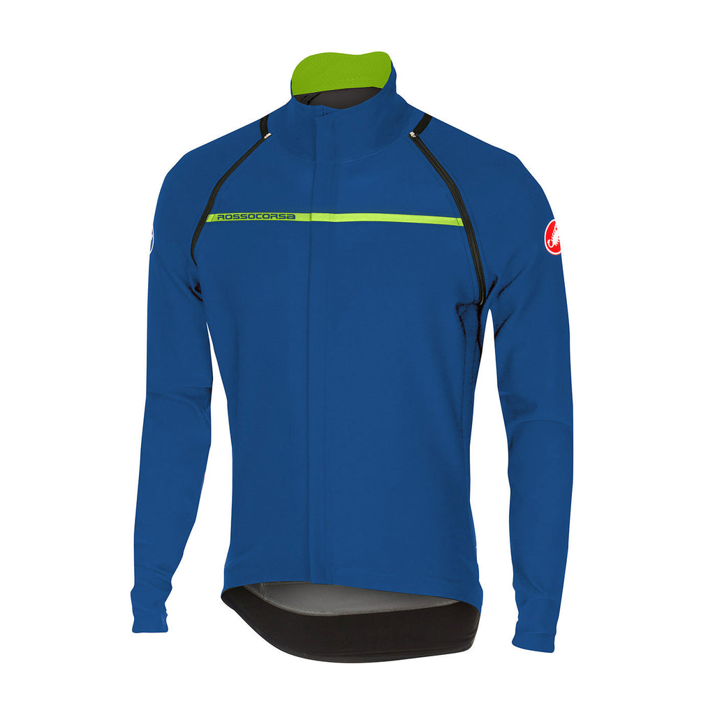 CASTELLI PERFETTO CONVERTIBLE JACKET - CERAMIC BLUE