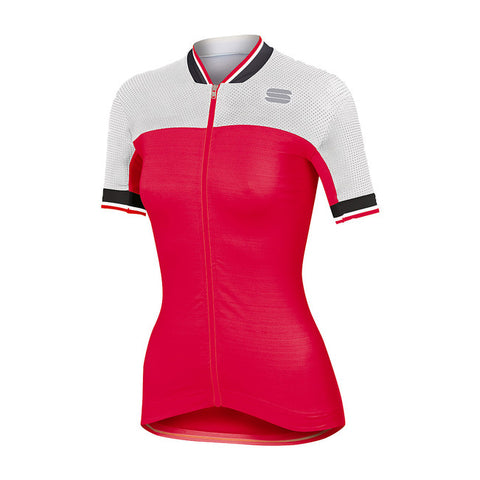 SPORTFUL GRACE JERSEY - CHERRY/WHITE