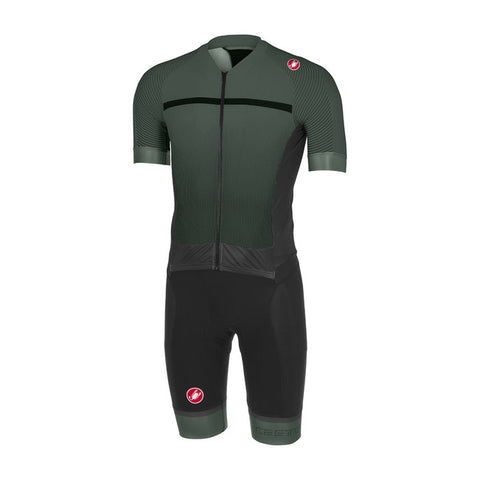 CASTELLI SANREMO 3.2 SPEEDSUIT - FOREST GREY/BLACK