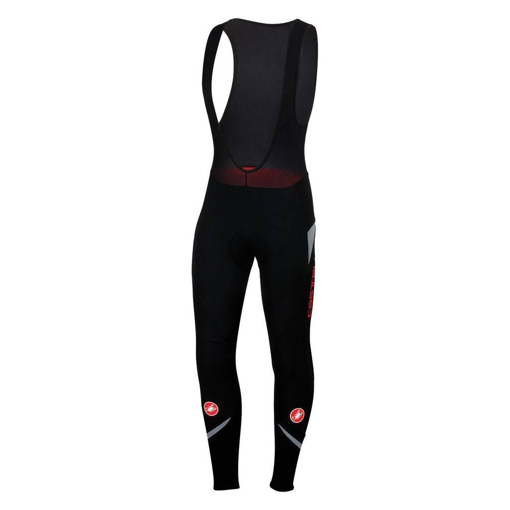 CASTELLI POLARE 2 BIBTIGHT - BLACK/REFLEX