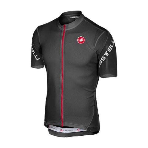 CASTELLI ENTRATA 3 JERSEY - LIGHT BLACK