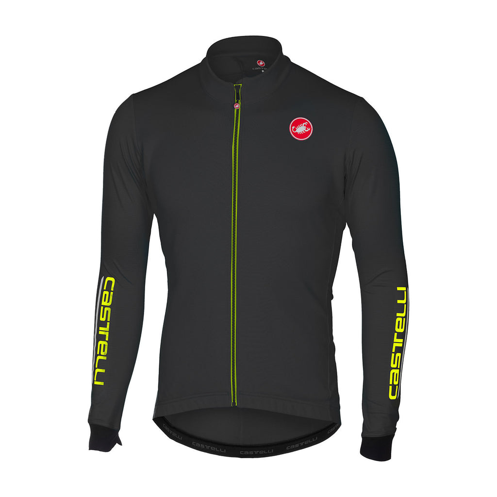 CASTELLI PURO 2 JERSEY FZ - LIGHT BLACK
