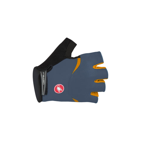 CASTELLI  ARENBERG GEL GLOVE - MIDNIGHT NAVY/ORANGE