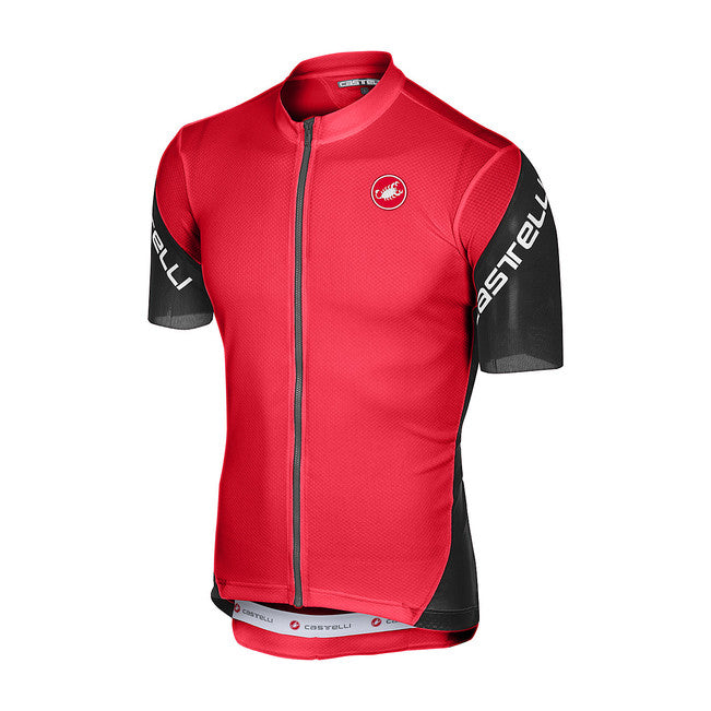 CASTELLI ENTRATA 3 JERSEY - RED