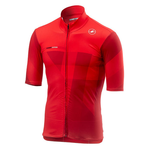 CASTELLI MID WEIGHT SS JERSEY - RED