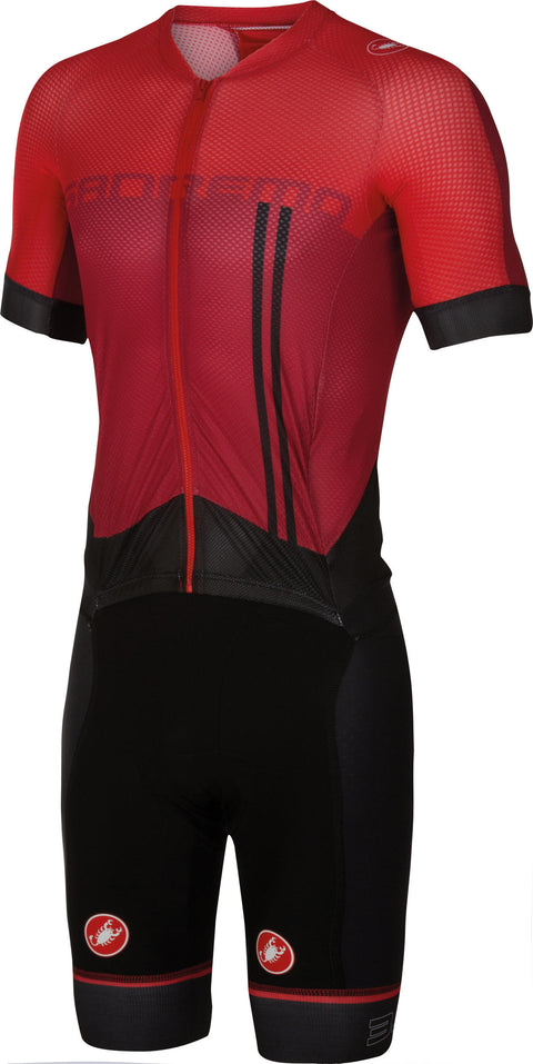 CASTELLI SANREMO 3.2 SPEEDSUIT - RUBY RED