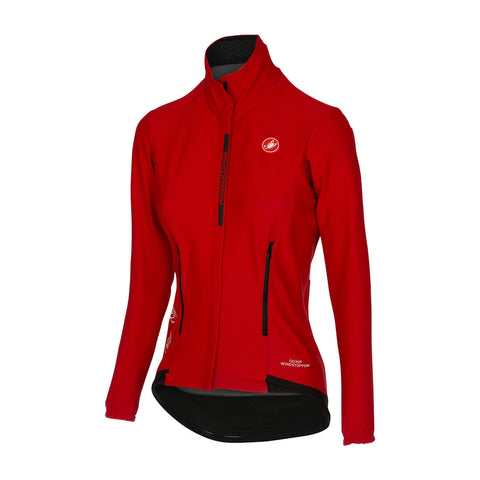CASTELLI WOMEN'S PERFETTO W LONG SLEEVE - RED
