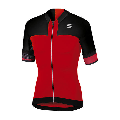 SPORTFUL STRIKE JERSEY - RED/BLACK