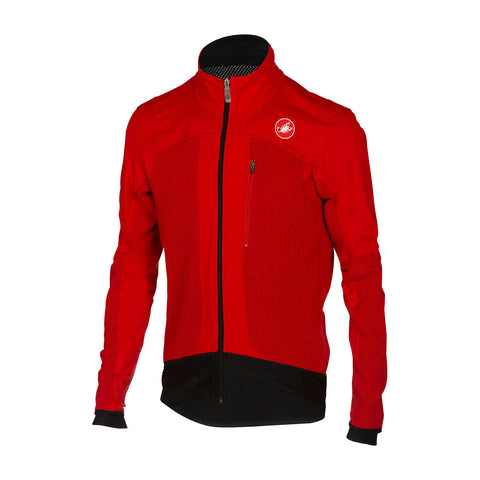 CASTELLI ELEMENTO 2 7x(AIR) JACKET - RED (Sample)
