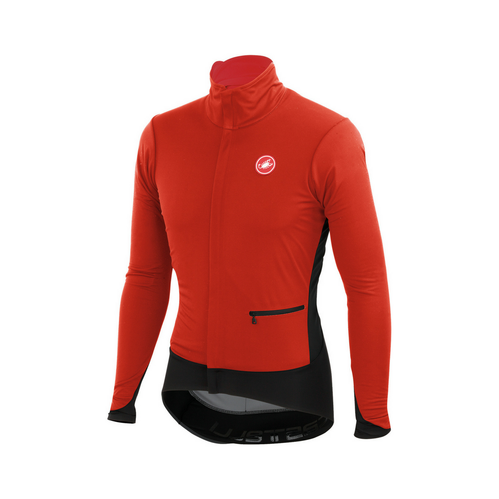 CASTELLI ALPHA JACKET - RED/BLACK