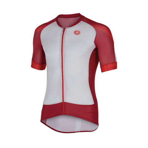 CASTELLI CLIMBER'S 2.0 JERSEY - WHITE/RED