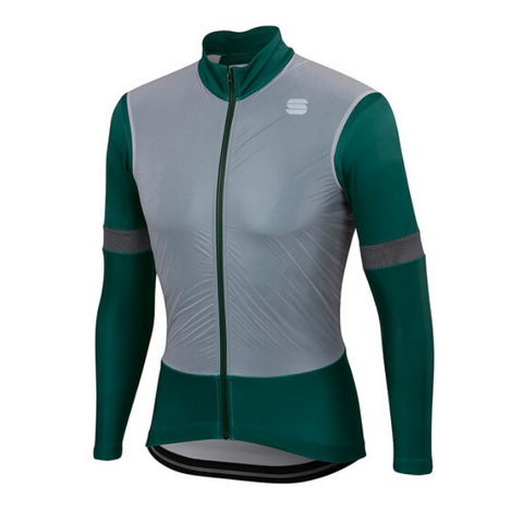 SPORTFUL SUPERGIARA THERMAL JERSEY - SEA MOSS