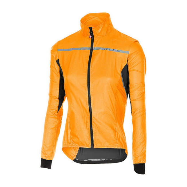 CASTELLI WOMEN'S SUPERLEGGERA W JACKET - ORANGE