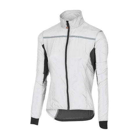 CASTELLI WOMEN'S SUPERLEGGERA W JACKET - WHITE
