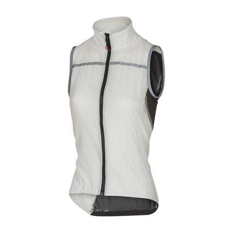 CASTELLI WOMEN'S SUPERLEGGERA W VEST - WHITE