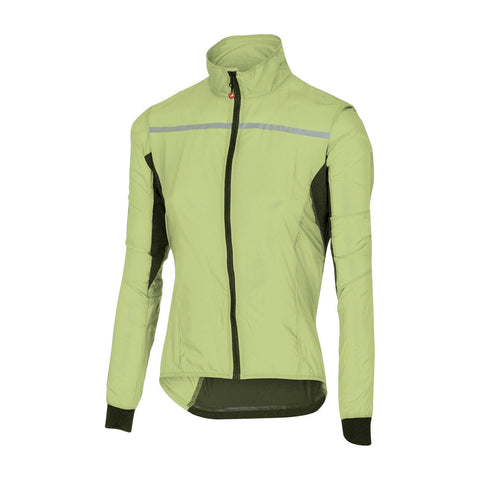 CASTELLI WOMEN'S SUPERLEGGERA W JACKET - SUNNY LIME
