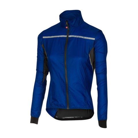 CASTELLI WOMEN'S SUPERLEGGERA W JACKET - SURF BLUE