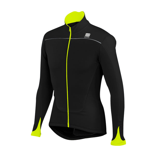 SPORTFUL FORCE JERSEY - YELLOW FLUO/BLACK