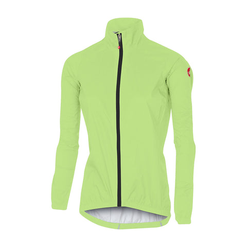 CASTELLI WOMEN'S EMERGENCY W JACKET - YELLOW FLUO