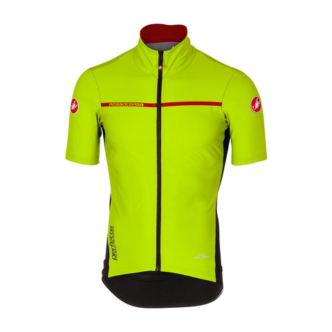 CASTELLI PERFETTO LIGHT 2 SHORT SLEEVE - Yellow Fluo