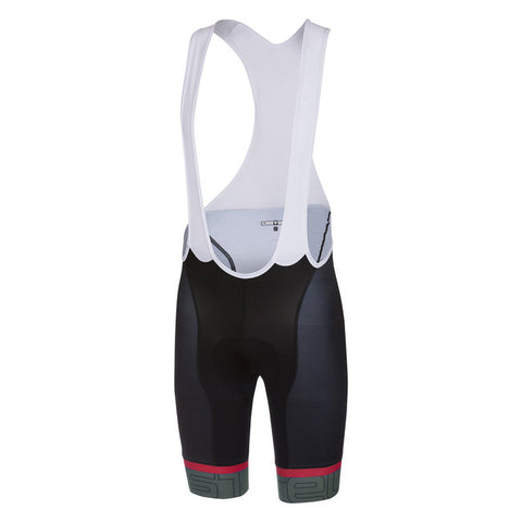 CASTELLI VOLO BIBSHORT - BLACK/FOREST GREY