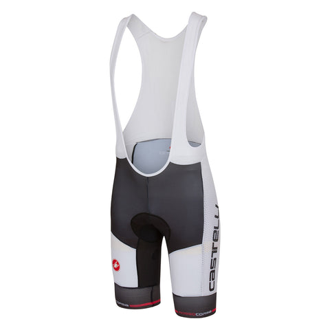 CASTELLI INFERNO BIBSHORT - BLACK/WHITE