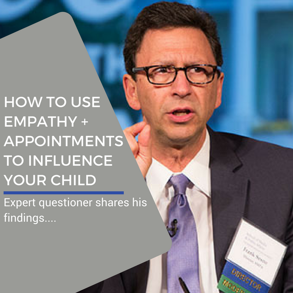 How To Use Empathy and Appointments To Change Your Child's Behavior