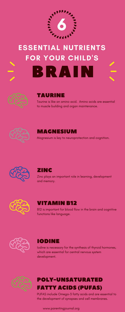 6 Essential Nutrients For Your Childsin