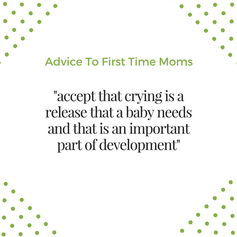 advice to first time moms