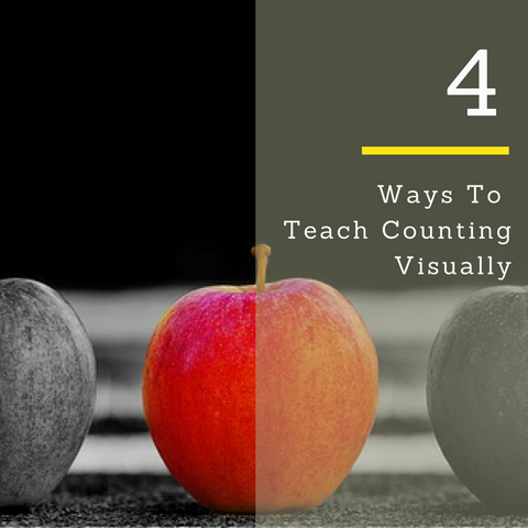4 ways to teach counting visually
