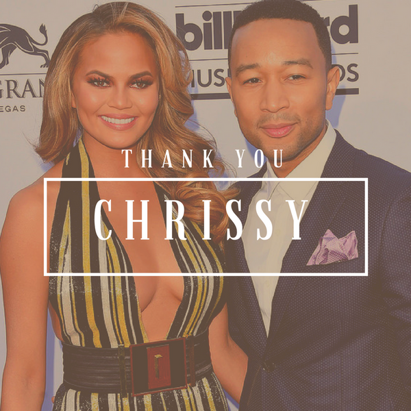 thank you chrissy teigen