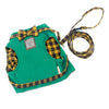 Image of Cat Green/Yellow Bow Tie Harnesses