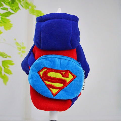 Superman Hoodie with Backpack