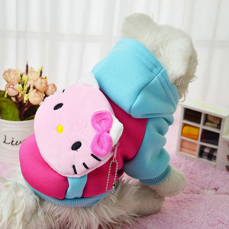 Hello Kitty Hoodie with Backpack