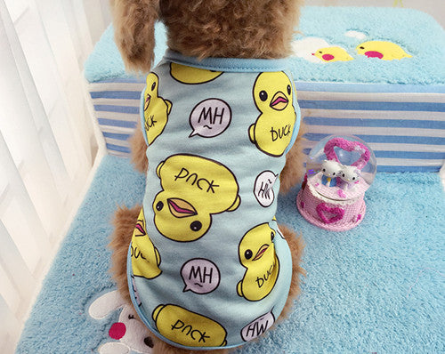 Ducky Dog Outfit