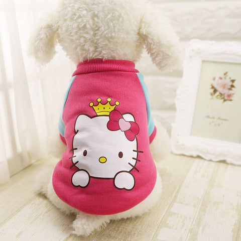 Pink HK Dog Sweater