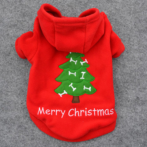 Red Christmas Tree Holiday Hoodie