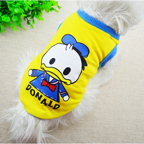 Donald Dog Tank Top
