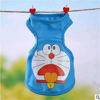 Doraemon Dog Tank Top