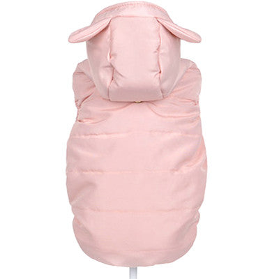 Bunny Ear Pet Winter Vest