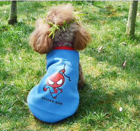 Spiderman Dog Sweatshirt