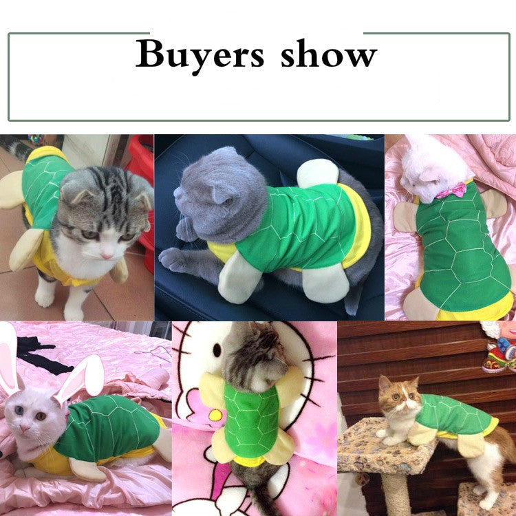 Turtle Cat Costume
