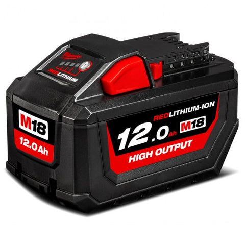 Milwaukee 18V 12.0Ah Li-ion Cordless RED LITHIUM High Output Battery - M18HB12