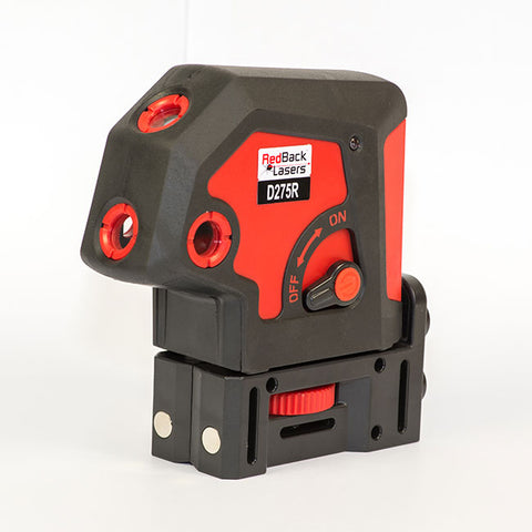 REDBACK LASERS 5 DOT LASER LEVEL RED - D275R