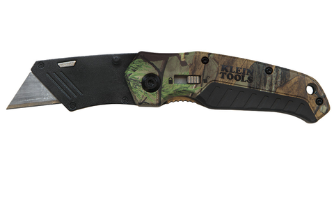 Folding Utility Knife Camo Assisted-Open - 44135