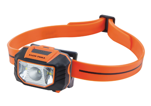 LED Headlamp Flashlight with Strap for Hard Hat - 56220